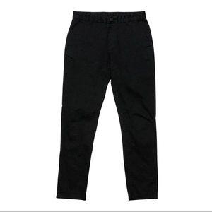 H&M SLIM BLACK CHINO PANTS